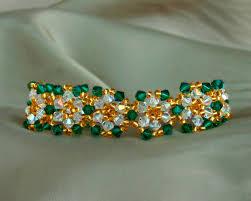free beaded bracelet pattern images Free pattern for bracelet queen beads magic jpg