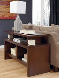 sofa table wih storage pleasing strong rubber wood sofa table