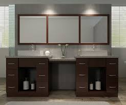 makeup vanity with sink ariel bath roosevelt 97 double sink vanity set with mirror and