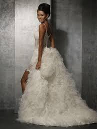 short wedding dress with train styles of wedding dresses