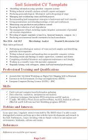 ms office cv format soil scientist cv template tips and download cv plaza