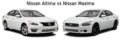 nissan white car altima altima vs maxima here u0027s the difference jack ingram nissan