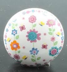 möbelknopf kinderzimmer lafinesse möbelknopf blumen keramik ø 4 cm griff knauf