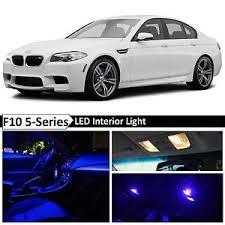 bmw blue interior blue interior led light package for 2011 2015 bmw 5 series m5 535i