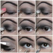 tutorial black eye make up for s