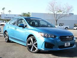 2017 subaru impreza sedan blue used 2017 subaru impreza 2 0i sport 4 door cvt island blue pearl for