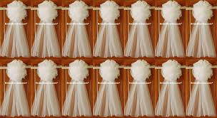 Tulle Wedding Decorations Set Of 14 12