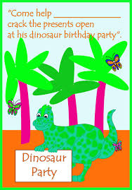 dinosaur birthday invitations birthday party ideas for kids