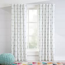 Gray And Pink Curtains Curtain Curtain Childrens Blackout Curtainsursery Jungle For