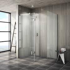 walk in shower doors glass saturn 8mm walk in shower enclosure 1700x800mm victorian plumbing