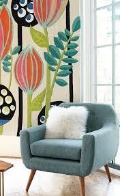 Midcentury Modern Wallpaper Get A Mid Century Living Room Just By Attending Maison U0026 Objet
