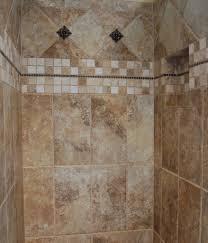 bathroom shower area with ceramic wall bathroom design with
