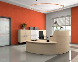 Circle Reception Desk by Sustainability Approach For Barbican Lighting