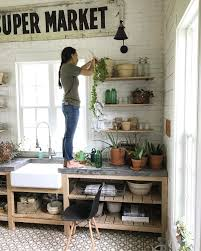 how joanna gaines decorates with plants popsugar home