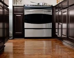 Rustic Birch Kitchen Cabinets Pretty L Shape Kitchen Features Brown Color Birch Kitchen Cabinets