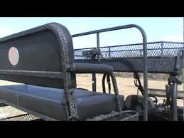Hunting Chair Plans Polaris Ranger Hunting High Rack Big Country Outdoors Youtube