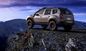 renault duster renault duster extreme concept looks ready to conquer any terrain
