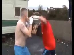 Youtube Backyard Fights Street Fight Bare Knuckle Fight Traveller Gypsy 2016 Quinn