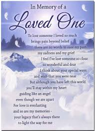 in memory of a loved one my pam grief poem
