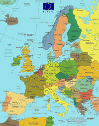 a map of europe with countries maps europe map of europe countries and maps