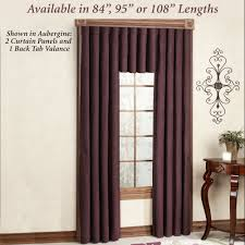 solid color curtains touch of class
