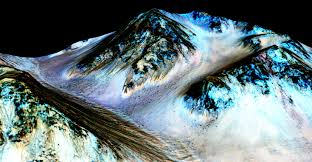 Washington how long would it take to travel to mars images Nasa confirms evidence that liquid water flows on today 39 s mars nasa jpg