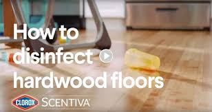 can i use pine sol to clean wood cabinets how to disinfect hardwood floors clorox scentiva mopping