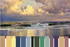 how to paint seascapes selecting your color palette for seascape