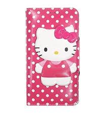 iphone 7 case kitty cute case diary wallet flip