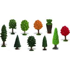 miniature trees small replicas 10 pieces self help warehouse