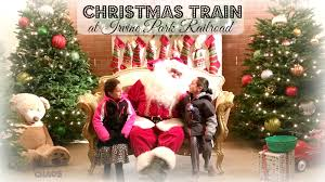 pre order your tickets now to catch the christmas train at irvine
