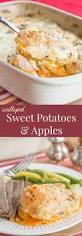 sweet potato thanksgiving dish scalloped sweet potatoes and apples cupcakes u0026 kale chips
