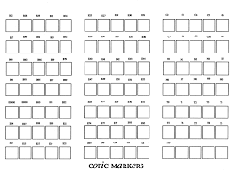 printable copic color chart sketch coloring page