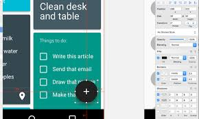 table layout material design android sketch with material design smashing magazine