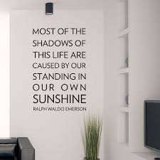 most of the shadows wall decal sticker most of the shadows of this life wall quote decal