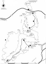 Riverside State Park Trail Map by Outdoors Idyllwild California
