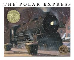 a polar express ornament tells the story of a quietly