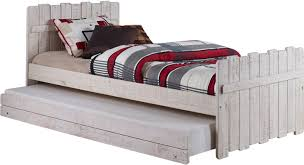 Pictures Of Trundle Beds Donco Kids Tree House Twin Panel Bed With Trundle U0026 Reviews Wayfair