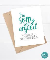 sorry cards sorry card boyfriend card card card