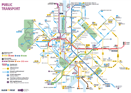 Metro Violet Line Map by Public Transportation Budapest Travel Guide