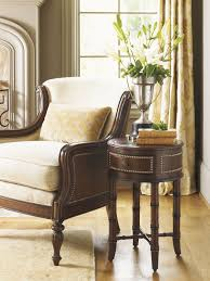 Living Room Accent Table Landara Bandera Leather Accent Table Lexington Home Brands