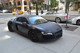 audi r8 matte black 2009 audi r8 quattro stock gc1192a for sale near chicago il