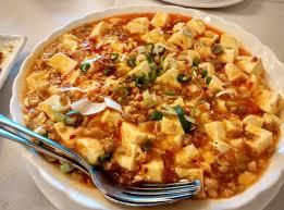 sichuan cuisine mapo tofu a dish in sichuan cuisine picture of water sky
