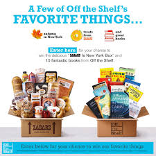 zabar s gift baskets 10 gift cards enter these bookish october giveaways right now