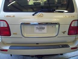 lexus lx470 touch up paint emblem removal question ih8mud forum
