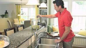 moen walden kitchen faucet 87045msrs youtube