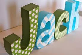 Letter Decorations For Nursery Nursery Decor Letter Decoration Diy Pinterest Letters