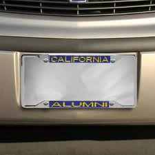 uc berkeley alumni license plate uc berkeley license plates cal bears license plate frames the