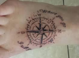 tattoos männer sprüche kompass tattoos ideen und bedeutungen