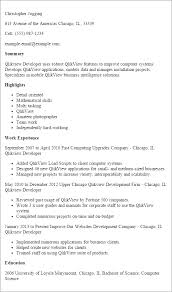 Developer Resume Examples by Professional Qlikview Developer Templates To Showcase Your Talent